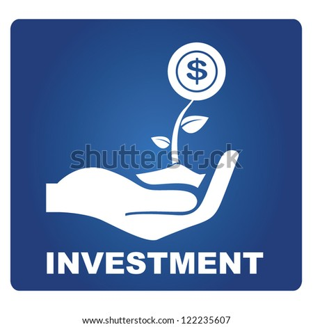 investment - stock vector