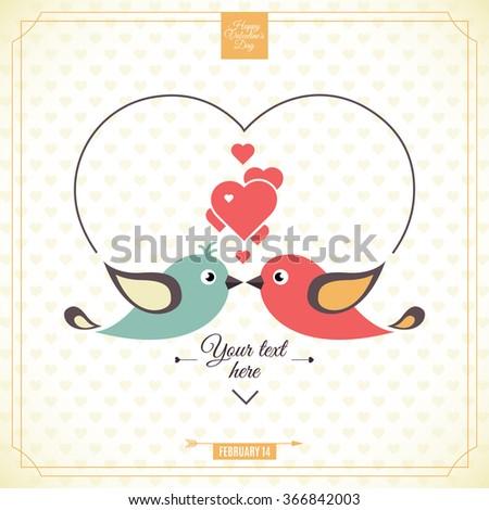 Invitation card for wedding - stock vector