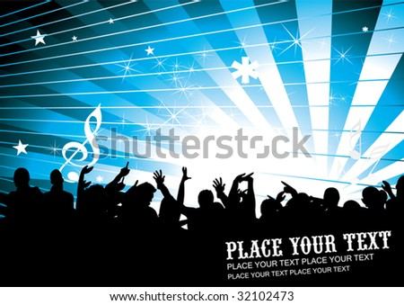 Invitation / Flyer - stock vector