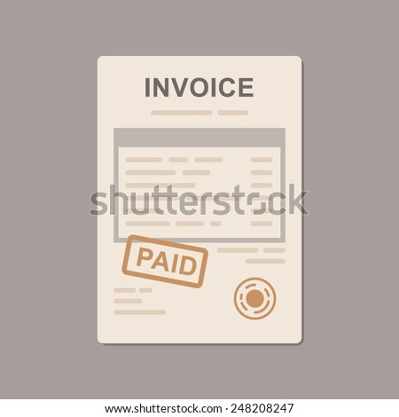 Invoice Template Stock Photos, Images, & Pictures | Shutterstock