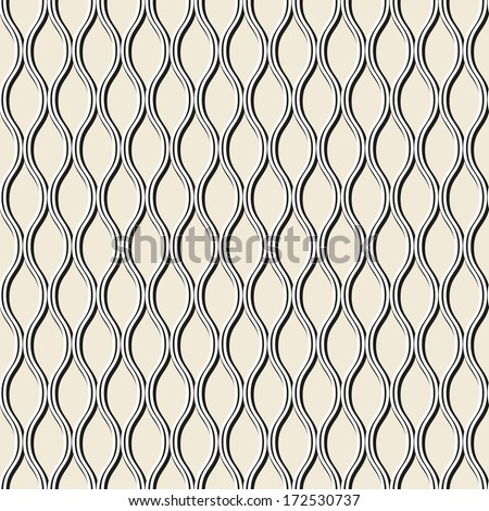 Irregular abstract grid pattern. Seamless background - stock vector