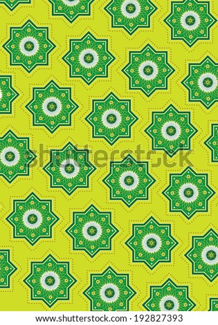 Islamic pattern (Vector) - stock vector