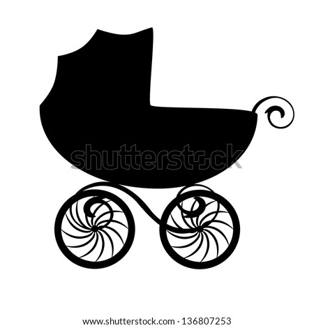 Vintage baby carriage Stock Photos, Images, & Pictures ...