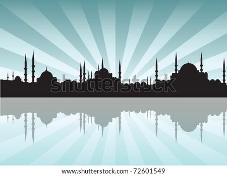 istanbul - stock vector
