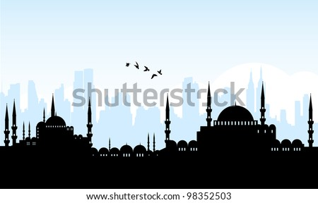 istanbul - stock vector