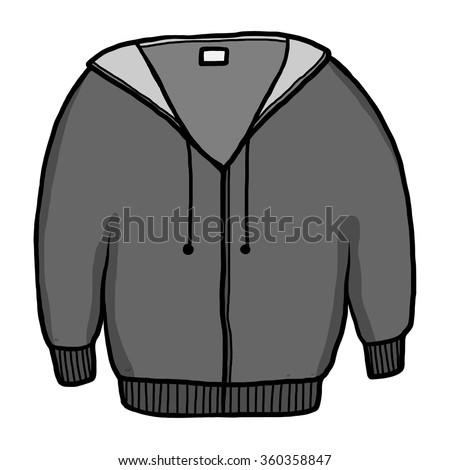 Gray Hooded Sweatshirt Stock Vectors Amp Vector Clip Art
