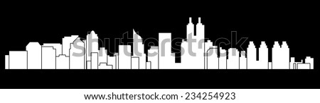Jakarta,Indonesia (skyline) - stock vector