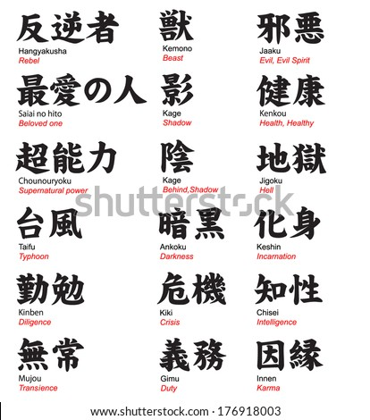 Kanji stock photos images pictures shutterstock Bathroom in chinese characters