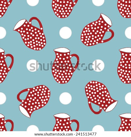 jar polka abstract pattern the background vector - stock vector