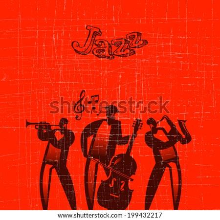 Jazz. Vector format - stock vector