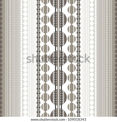 Jewelry Geometric pattern. Vector art. - stock vector