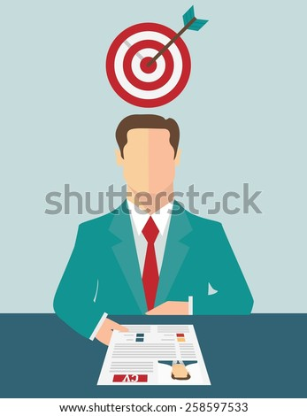 Job recruitment concept - stock vector