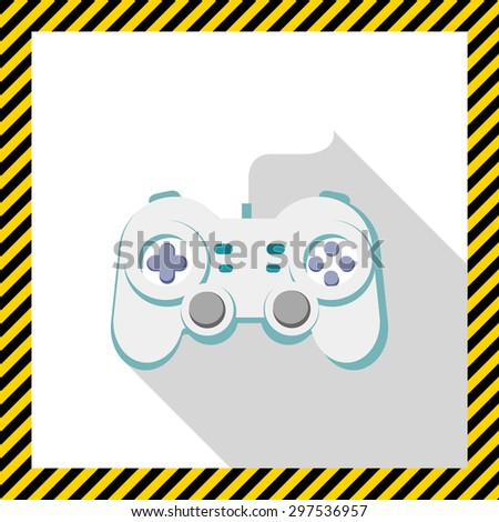 Joystick icon - stock vector