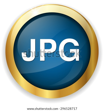 Jpg icon file - stock vector