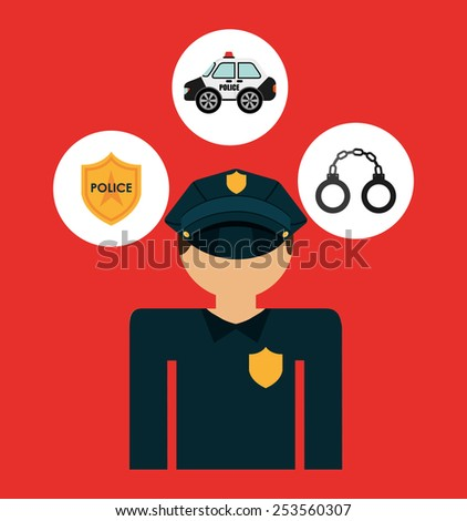 justice concepts design, vector illustration eps10 graphic  - stock vector