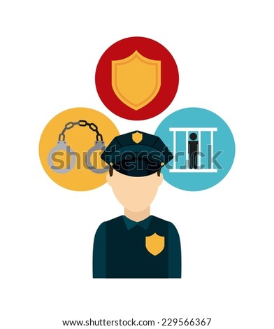 justice graphic design , vector illustration - stock vector