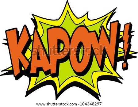 Comic Book Dots Illustrator Kapow Stock Photos, Im...