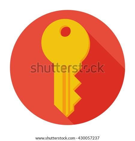 Key Icon flat, Key icon, Key icon picture, Key icon vector, Key icon EPS10, Key icon graphic, Key icon object, Key icon JPEG, Key icon picture, Key icon image, Key icon drawing, Key icon illustration - stock vector