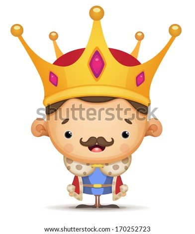 King - stock vector