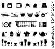Kitchen icon - stock vector