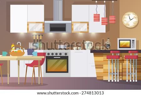 Home Accessories Stock Vectors Vector Clip Art Shutterstock