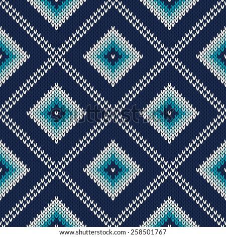 Knitting Pattern Stock Vectors & Vector Clip Art Shutterstock