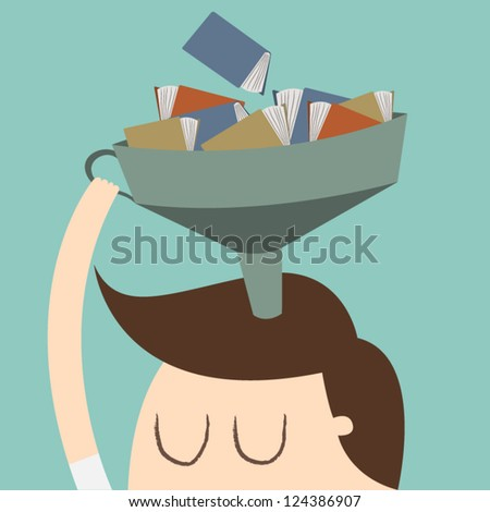 Knowledge - stock vector