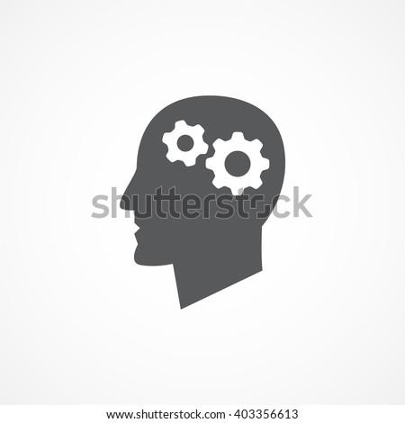 Knowledge icon - stock vector