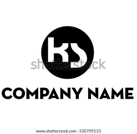 K S Logo ks logo - stock vector