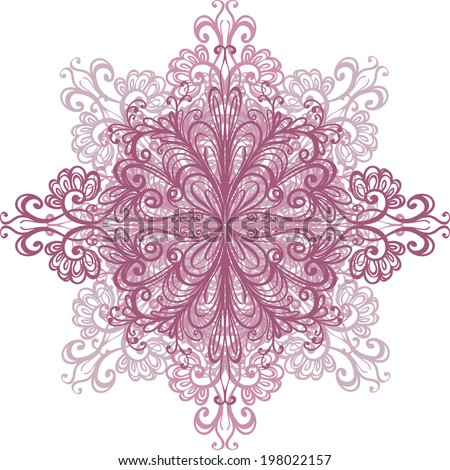 Lace - stock vector