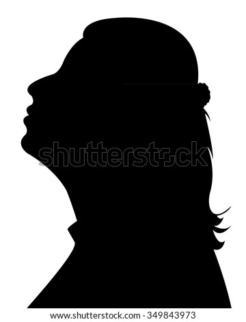 young girl looking up stock illustrations amp cartoons