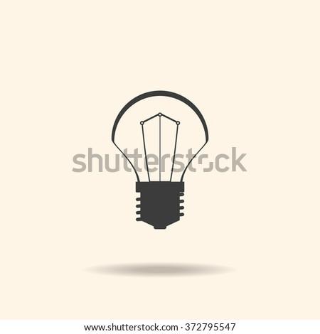 lamp Icon, lamp Icon Vector, lamp Icon JPG, lamp Icon JPEG, lamp Icon EPS, lamp Icon design - stock vector