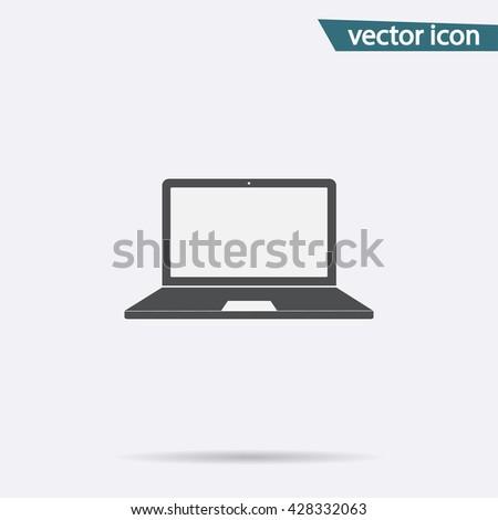 Laptop Icon, Laptop Icon Vector, Laptop Icon Flat, Laptop Icon Sign, Laptop Icon App, Laptop Icon UI, Laptop Icon Art, Laptop Icon Logo, Laptop Icon Web, Laptop Icon, Laptop Icon JPG, Laptop Icon EPS - stock vector