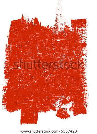 Large Grunge Square 4 - Highly Detailed vector grunge element - stock vector