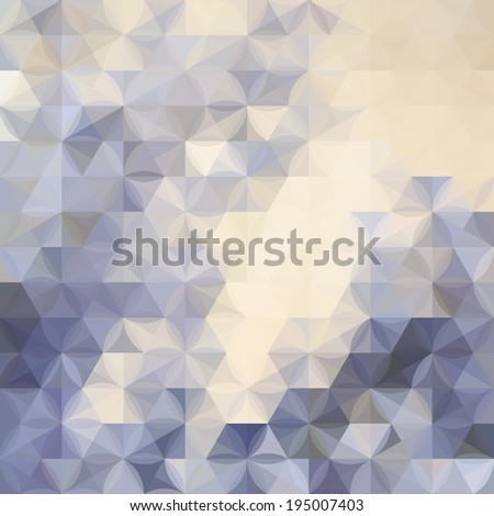 Lavender pastel defocused background with geometric ornament - stock vector