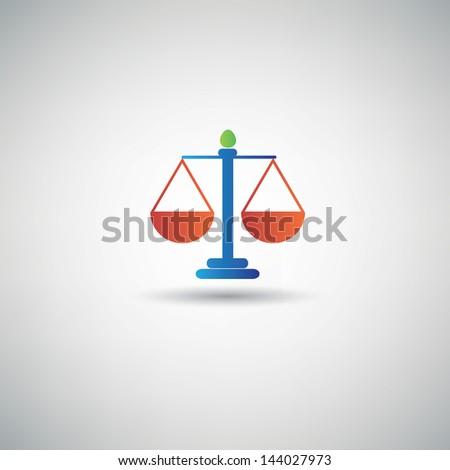 Law symbol,vector - stock vector