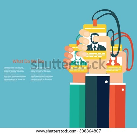 Leadership in business concept - stock vector