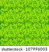 leaf background vector - stock vector