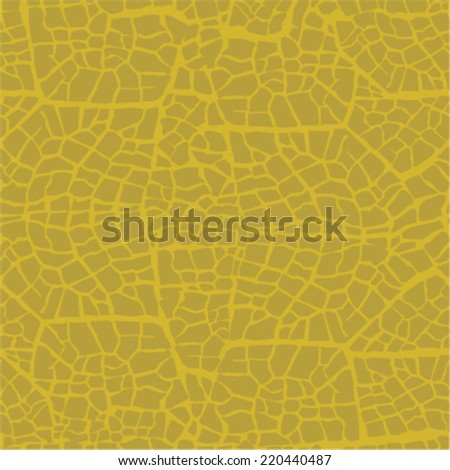 Leaf vine texture, seamless vector pattern - stock vector