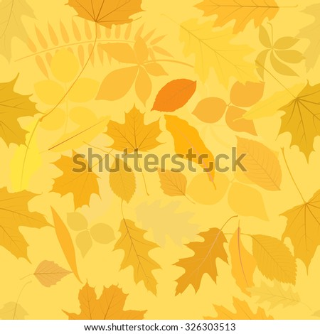 leaves pattern seamless - stock vector