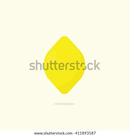 Lemon - stock vector