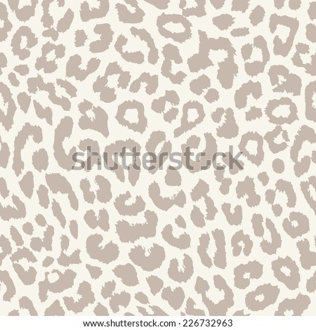 Leopard seamless background  - stock vector