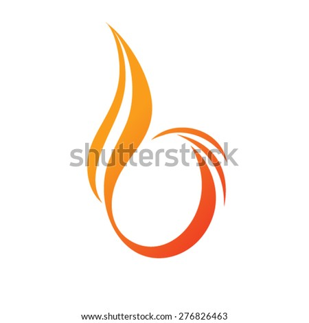 Letter B logo design - stock vector