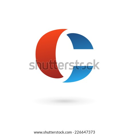 Letter C logo icon design template elements  - stock vector