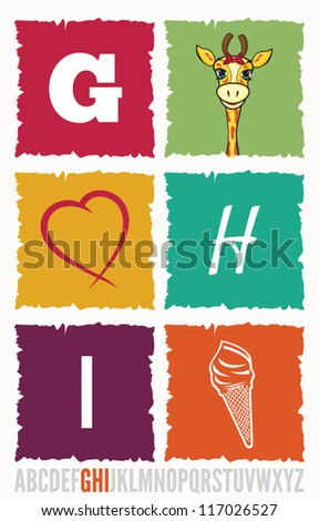 Letter concept - stock vector