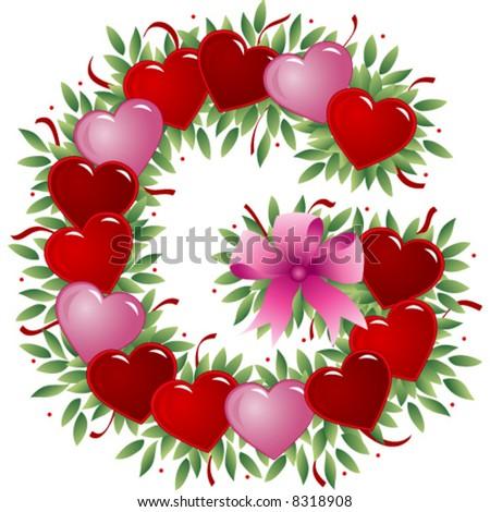 letter g valentine s love   G Letter In Love