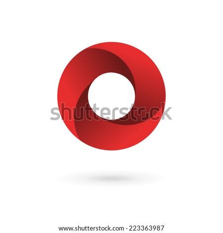 Letter O logo icon design template elements  - stock vector
