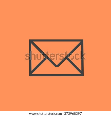 letter vector icon - stock vector