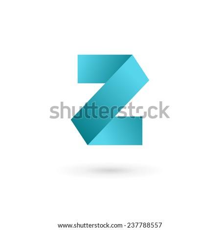 Letter Z logo icon design template elements  - stock vector