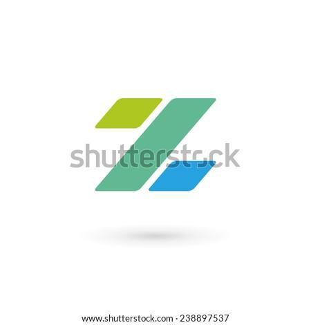 Letter Z percent logo icon design template elements  - stock vector